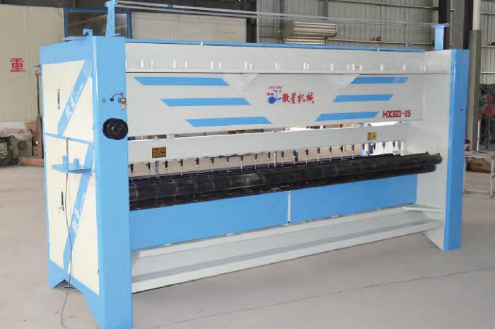 400米旋梭大棚棉被机 HX323-25单梁机